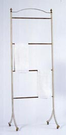 Reeded Linen Rack
