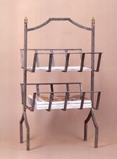 Iron Magazine Rack